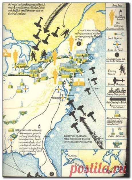Какие страны готовились к вторжению на территорию США