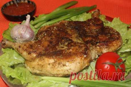 Цыплёнок табака с чесноком рецепт с фото пошагово - 1000.menu
