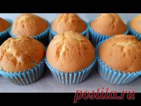 Очень вкусные кексы с изюмом! Нежные и воздушные! / Delicious raisin muffins!