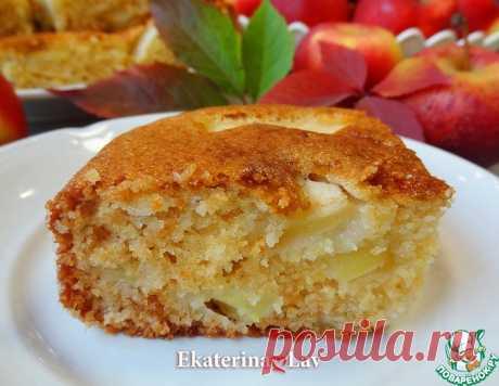 Яблочный пирог без яиц на кефире – кулинарный рецепт