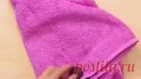 Женские хитрости - применении старых полотенец