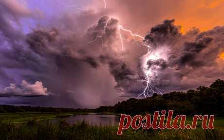 Молния: приметы и поверья