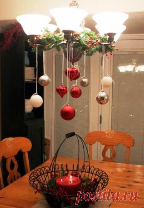 Новогодний декор на кухне