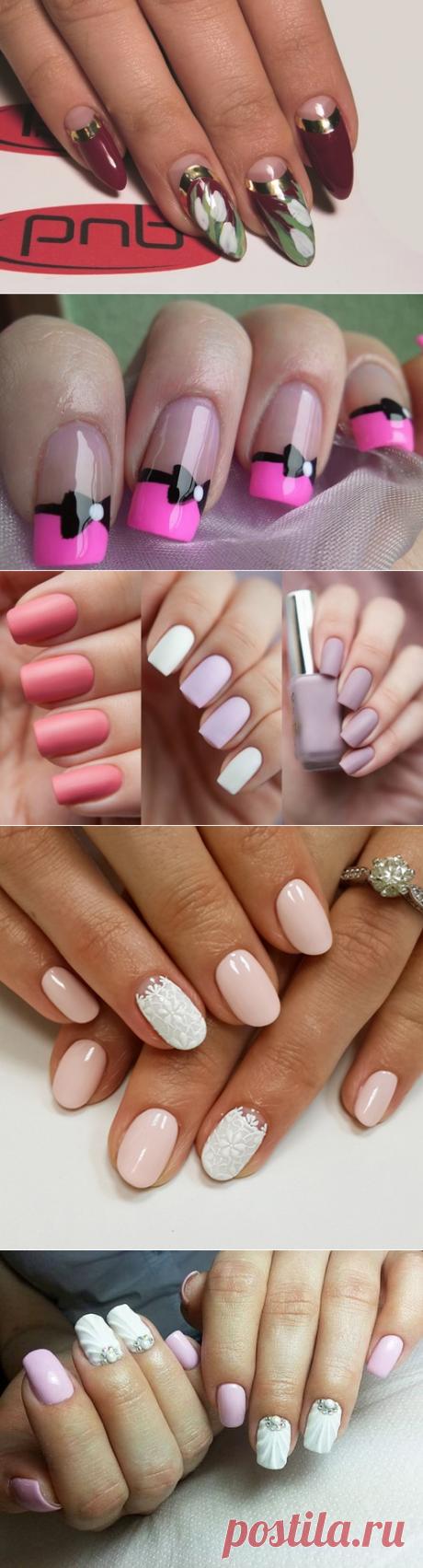 Модный весенний дизайн ногтей 2017-2018 - фото идеи весенний маникюр на короткие ногти | topxstyle.ru