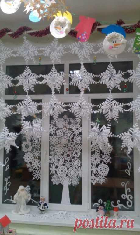 Мастер-класс по изготовлению «Снежинки». Воспитателям детских садов, школьным учителям и педагогам - Маам.ру