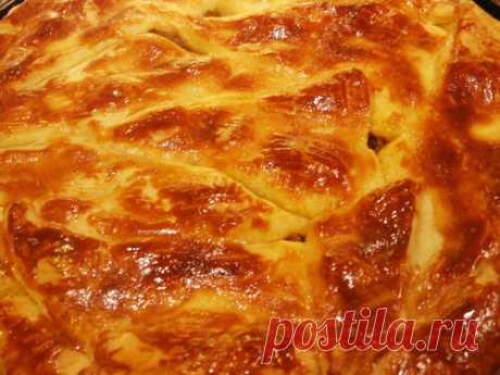 Мясной пирог-типа греческого!