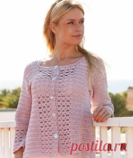 Жакеты к лету и к лицу, вам, милые дамы! | Asha. Вязание и дизайн.🌶 | Яндекс Дзен
