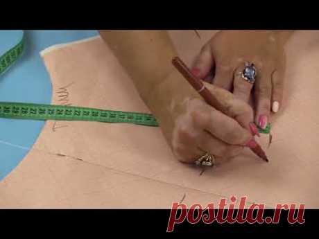 Как сшить кюлоты Выкройка от юбки полусолнце Моделирование и раскрой кюлотов своими руками Часть 1 - YouTube
