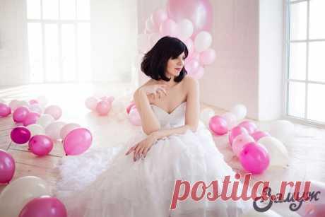 Свадебные причёски на короткие волосы: 20 идей и актуальных фото - Замуж ру