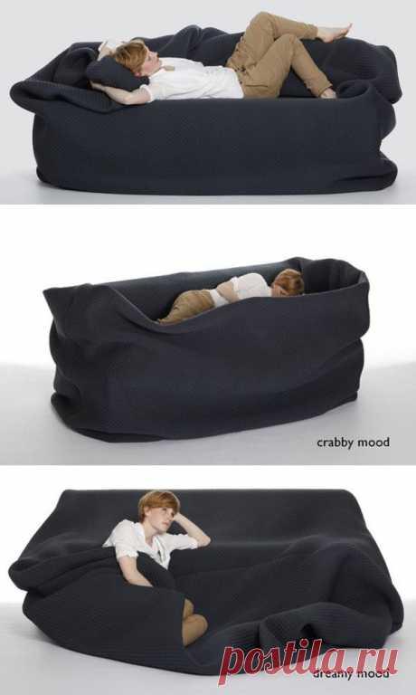 Заботливый диван