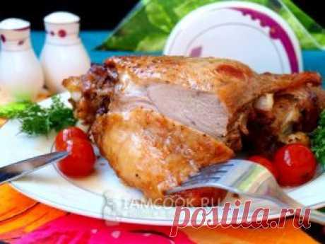 Бедро индейки в духовке — рецепт с фото пошагово. Как приготовить бедро индейки, запеченное в духовке?