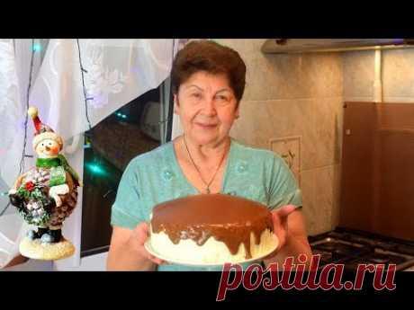 Торт Птичье Молоко - Знаменитый Рецепт от Мамины Рецепты