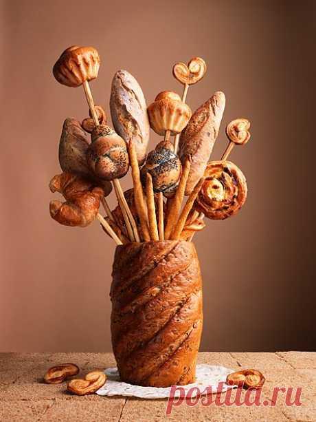 Carl Warner. Хлебная ваза