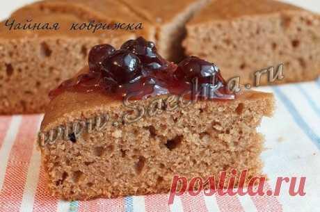 Чайная коврижка постная | рецепты на Saechka.Ru