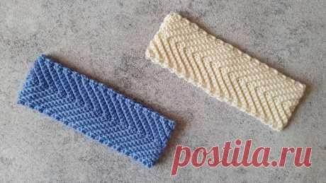 ХИТ сезона! Стильная повязка на голову крючком! | Natali_crochet | Яндекс Дзен