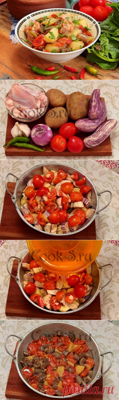 «Чанахи» с курицей по-грузински – казалось бы, просто тушеное мясо с овощами, но получается бесподобно - БУДЕТ ВКУСНО! - медиаплатформа МирТесен