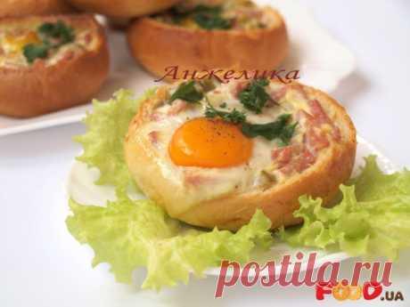 Закусочные булочки с ветчиной - Кулинарные рецепты на Food.ua