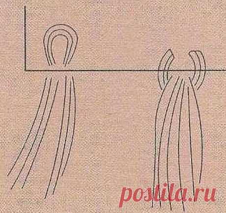 Сине-белое пончо и шапка | ВЯЗАНИЕ  спицами и крючком.