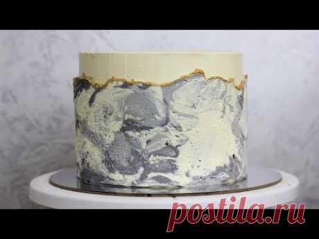 Мраморный торт. НЕОБЫЧНОЕ УКРАШЕНИЕ ТОРТА. Как украсить торт под мрамор. Украшаем торт без насадок Видео Привет друзья, сейчас набирает популярность мраморное оформление торта. Я решила  раскрыть вам секреты такого украшения? чтобы вы могли с легкостью по — Смотреть на imperiya.by