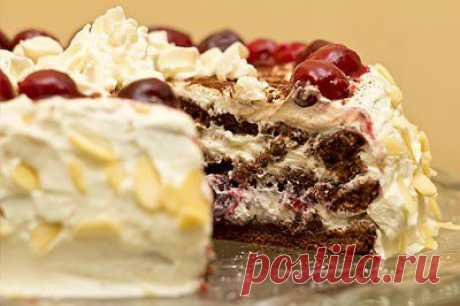 Шварцвальдский торт.