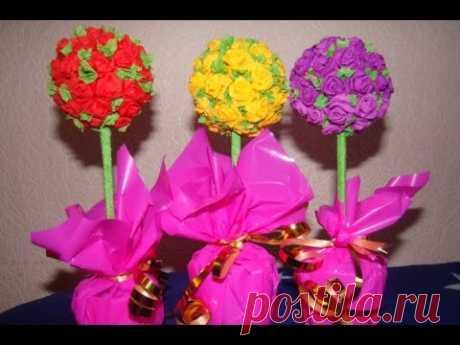 ¡Que Hacer Regalar a la Mamá a la Abuela al Cumpleaños 8 Martha Pasha Rospis Akrilom Podelki con los niños!