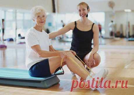 3 наиболее эффективных упражнения для людей старшего возраста