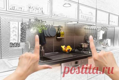 Проверенные идеи на устройство небольшой гостиной с мини-кухней