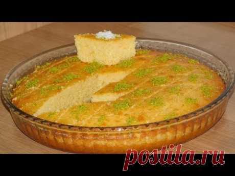Нежный и вкусный десерт РЕВАНИ. Турецкая сладость.