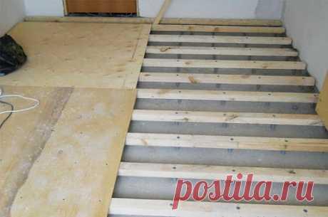 Укладка фанеры на деревянный пол: выбор материала, работы своими руками