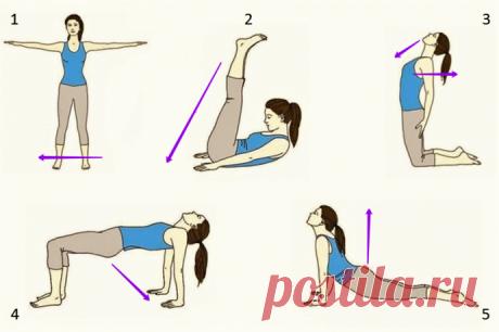 Простые и эффективные комплексы полезных упражнений для здоровья спины в домашних условиях