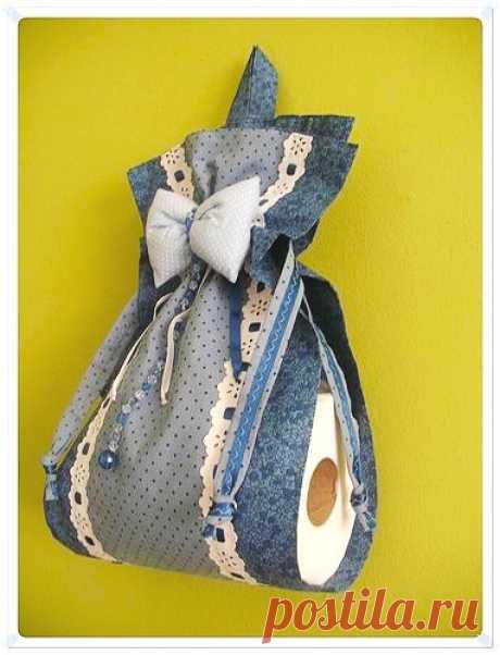 Симпатичные идеи хранения туалетной бумаги — Сделай сам, идеи для творчества - DIY Ideas