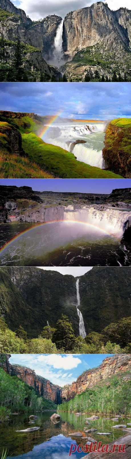 (+1) тема - Самые красивые водопады мира | Непутевые заметки