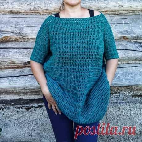 Пуловер из патентных столбиков | Лилия Тагирова | Яндекс Дзен