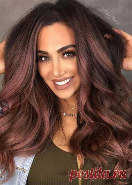 Шоколадная лилия — новая тренд этой осени в окрашивании волос — Женский Гид