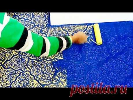 wall texture painting design interior & exterior paint.. intzar Malik