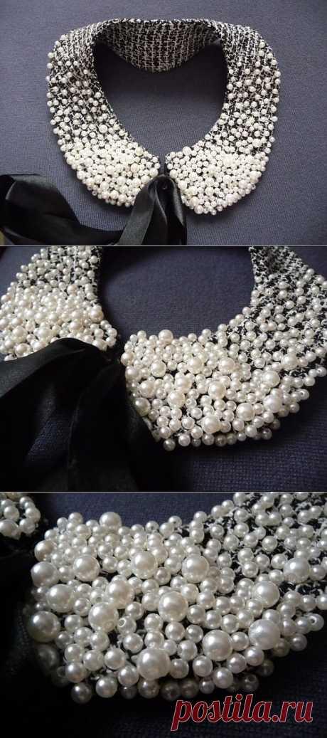 Воротничок в стиле Chanel / Воротнички / Модный сайт о стильной переделке одежды и интерьера