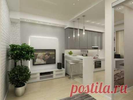 Дизайн квартиры (45 кв. м)