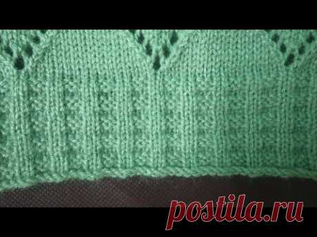Single border design in knitting machine #18(निटिंग मशीन में सिंगल बोडर डिजाइन #18)