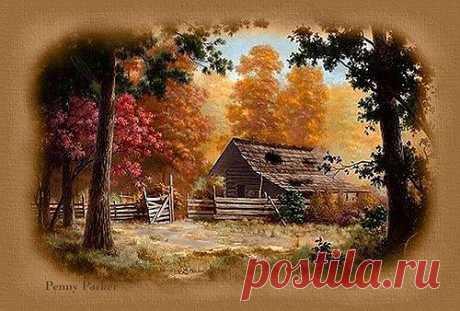 Вот и снова мне осень нужна....