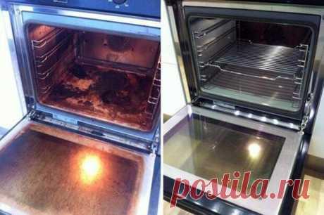 Сияющий блеск без лишних усилий - для тех, кто не любит чистить духовку | Четыре вкуса
