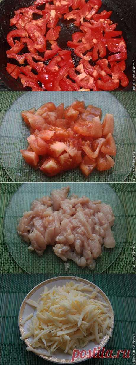 Бурритос с курицей / Рецепты с фото