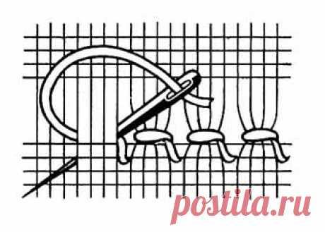 Стежки для вышивки в стиле Хардангер — Сделай сам, идеи для творчества - DIY Ideas