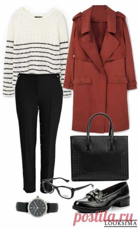 Лаконичный и стильный образ для прохладных дней. #looksimaFashion #style #instalook #lookoftheday #модныйобраз #стиль