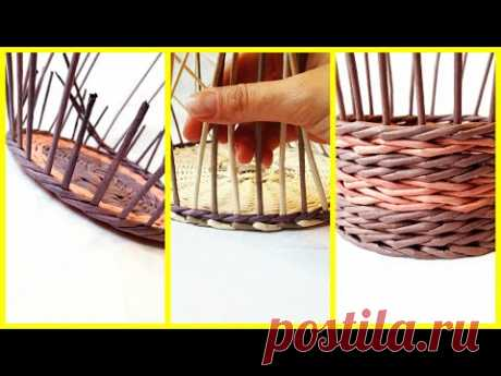 How to make accurate transition from a bottom to basket walls! 3 ways!