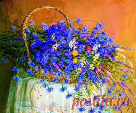 Цветочные истории : Василёк