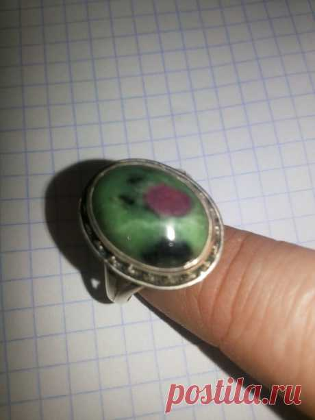 Кольцо серебро 6.15г р.19-20 ЦОИЗИТ,РУБИН (6294528517) - Aukro.ua – больше чем аукцион