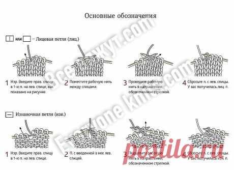 Как вязать по японским журналам? Шпаргалки по вязанию. | Все вяжут.соm/Everyone knits.com | Яндекс Дзен