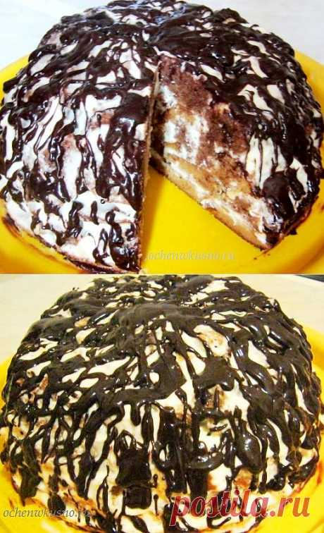 Торт «Кучерявый пинчер»   ГОТОВИМ ВКУСНО И ПО-ДОМАШНЕМУ