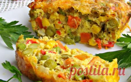 Самый полезный в мире завтрак: Овощная запеканка «Минутка здоровья»