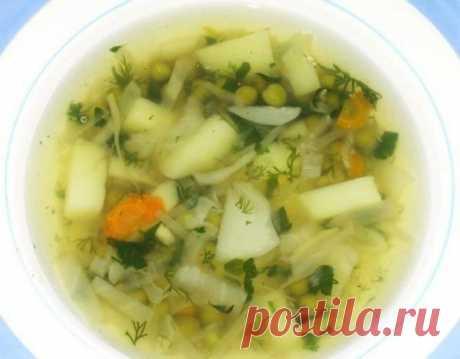 Французский постный суп